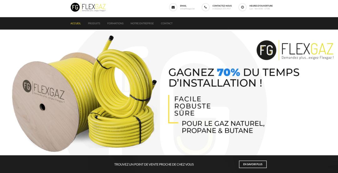 Site Vitrine Flexgaz